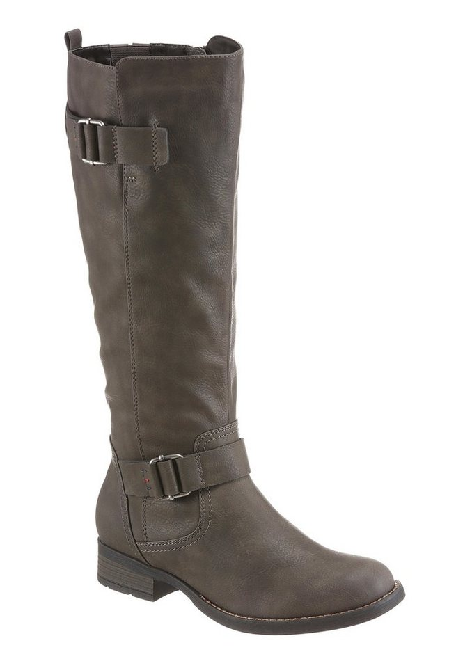 Hush Puppies Stiefel in dunkelgrau
