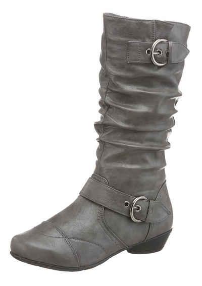 98f87bcb63eda4 Stiefel in grau online kaufen