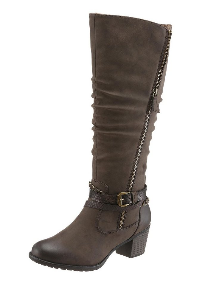 Hush Puppies Stiefel in mokka