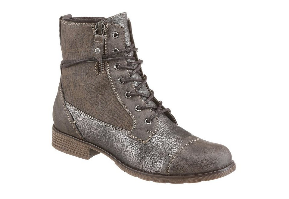 Hush Puppies Schnürboots in taupe