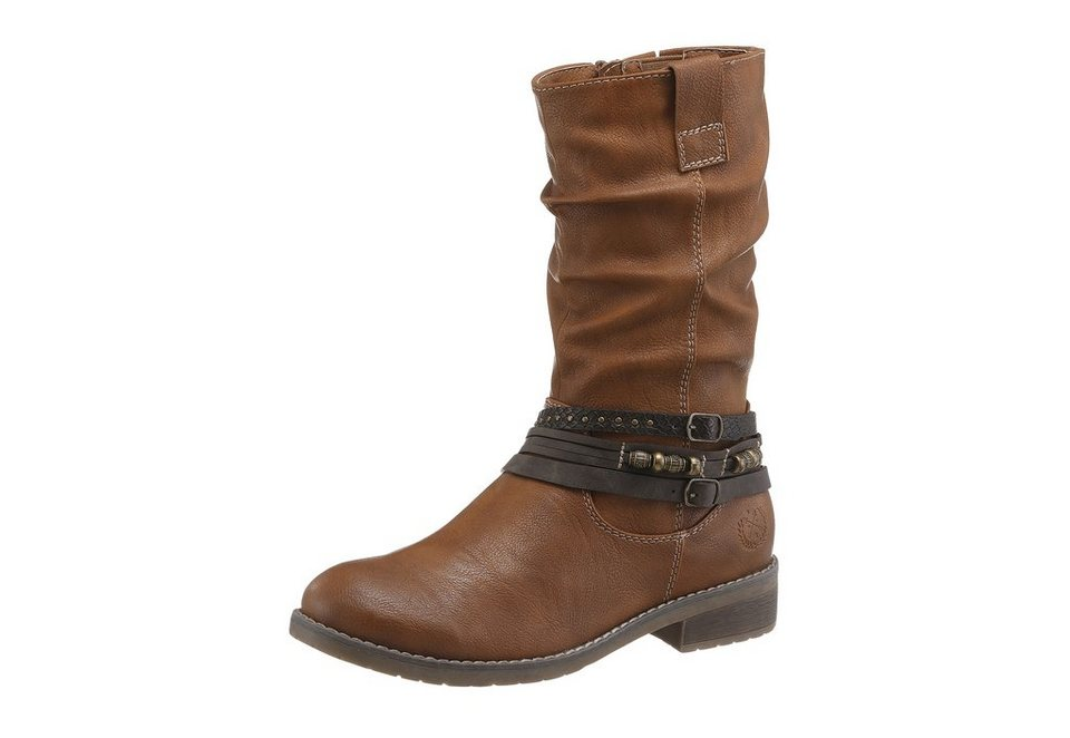 Arizona Stiefel in cognac
