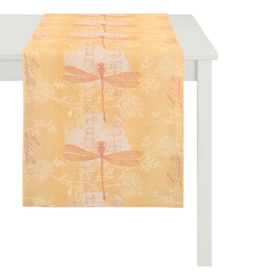 Apelt Tischläufer, »5910 SUMMER GARDEN« in orange