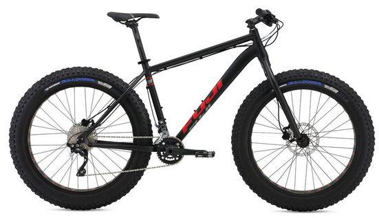 FUJI Bikes Fatbike »Wendigo 1.1«, 20 Gang Shimano Deore XT Shadow Schaltwerk, Kettenschaltung