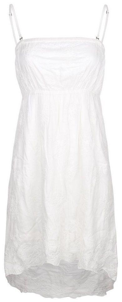 DREIMASTER Kleid in wollweiß