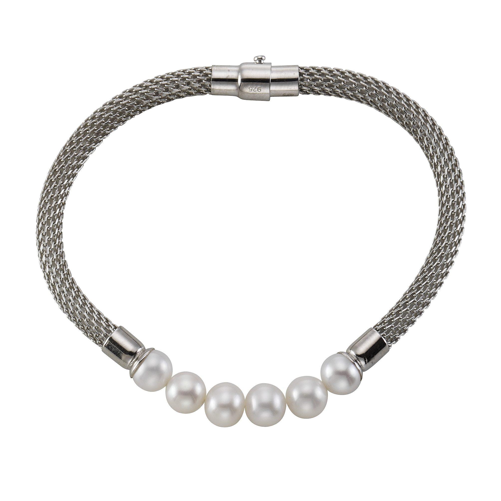 CELESTA Armschmuck »925/- Sterling Silber Perlen«