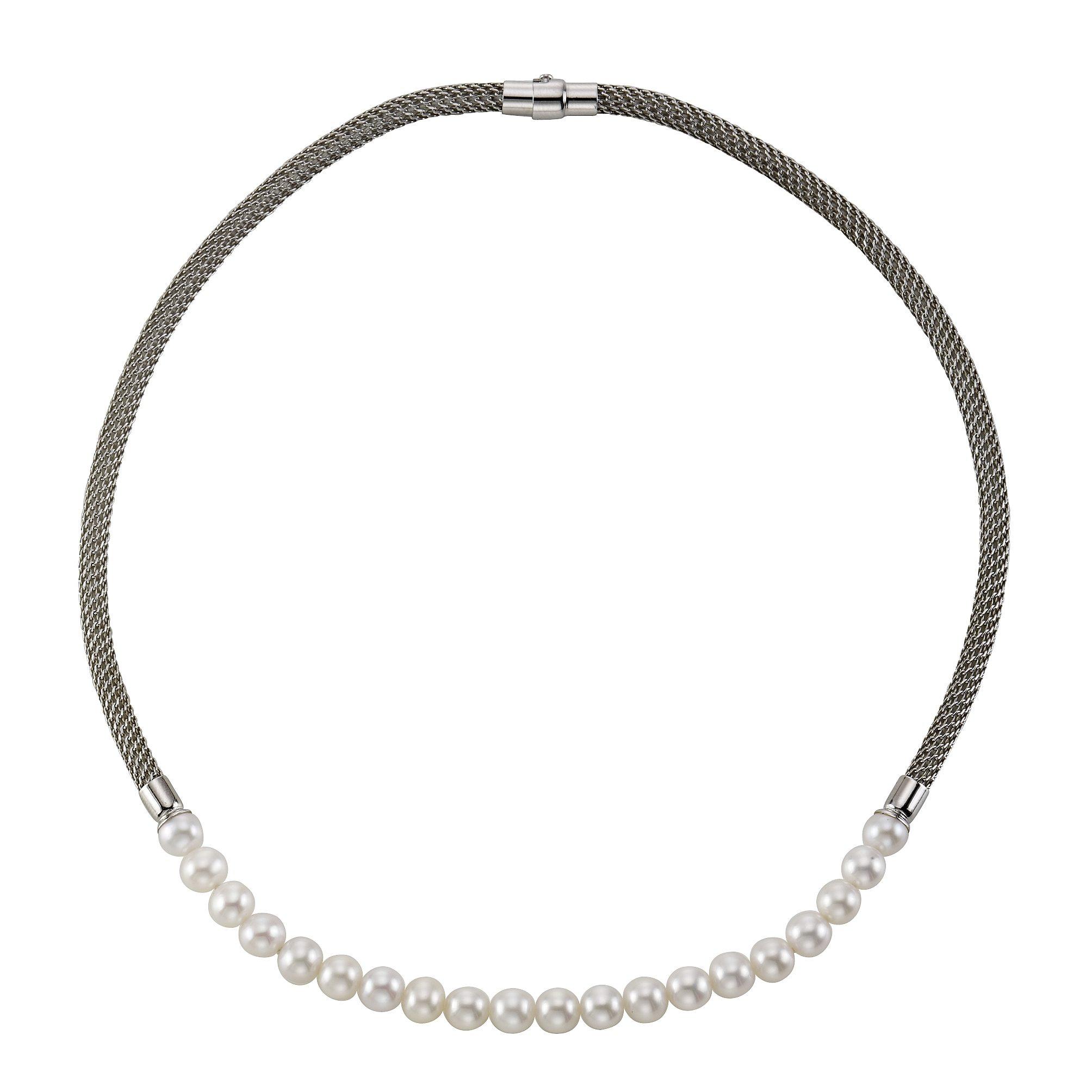 CELESTA Collier »925/- Sterling Silber Perlen«