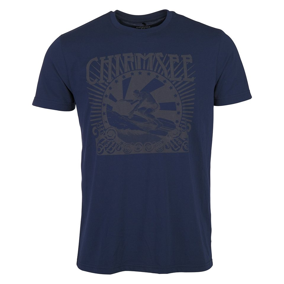 Chiemsee T-Shirt »WESLEY« in dress blue