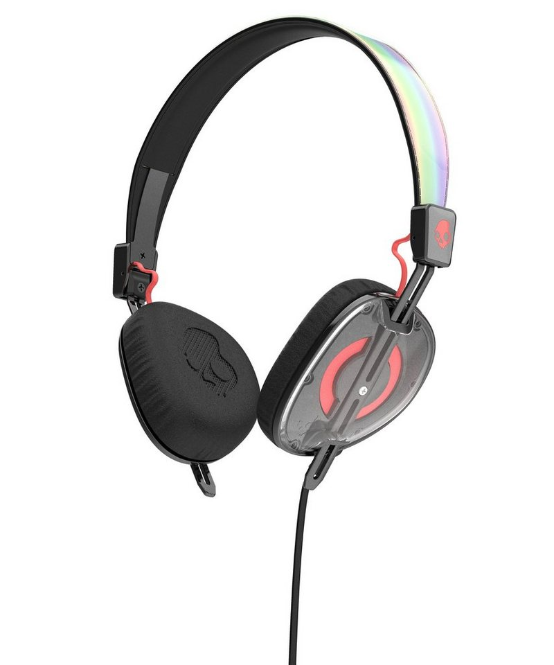 Skullcandy Headset »KNOCKOUT ON-EAR W/MIC 2 MASH-UP/MULTI/CORAL« in mehrfarbig