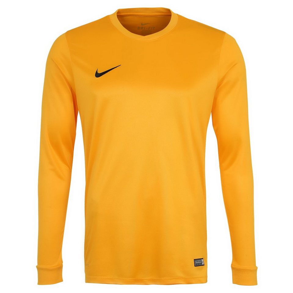 NIKE Park VI Fußballtrikot Herren in gelb / schwarz