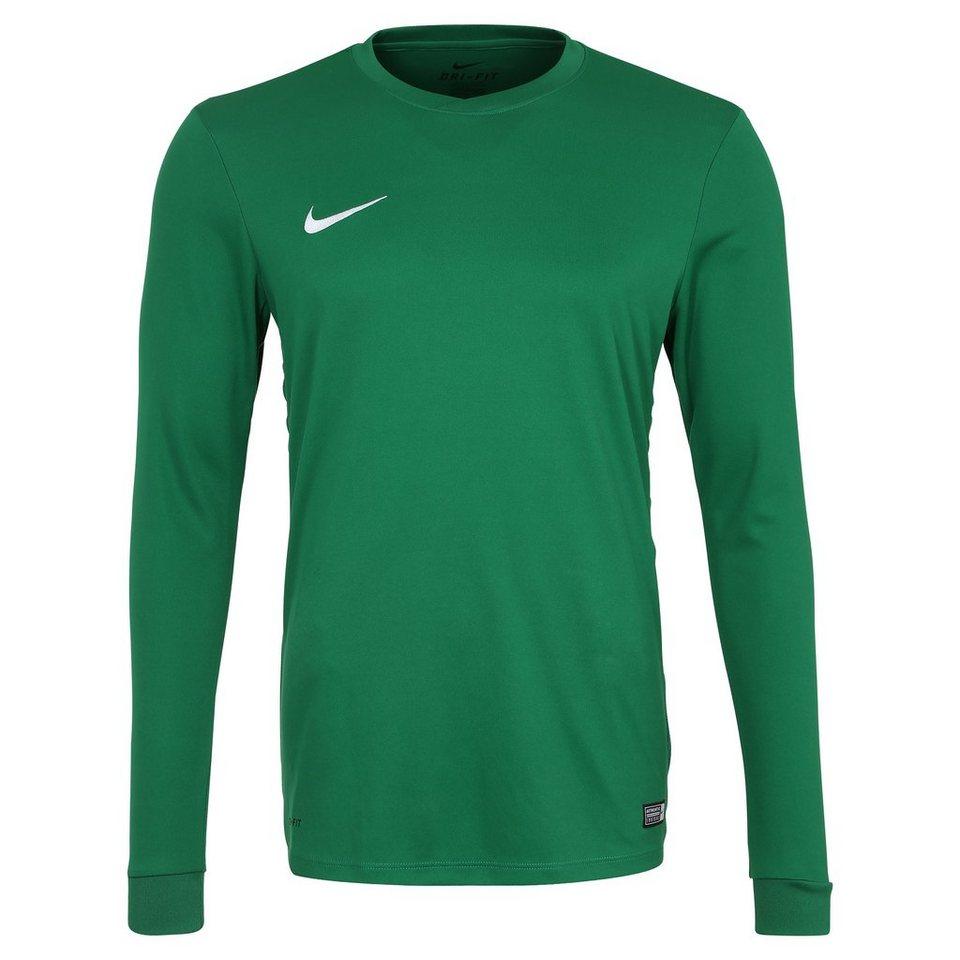 NIKE Park VI Fußballtrikot Herren in grün / weiß