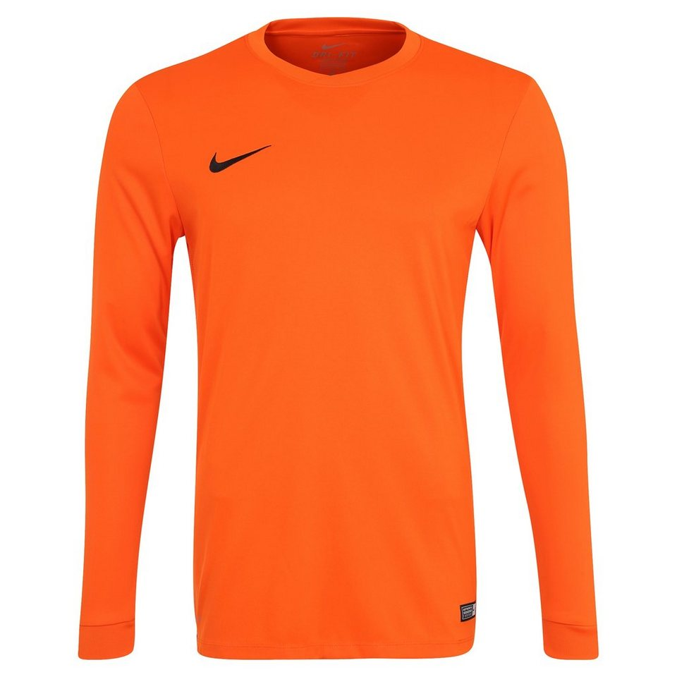 NIKE Park VI Fußballtrikot Herren in orange / schwarz