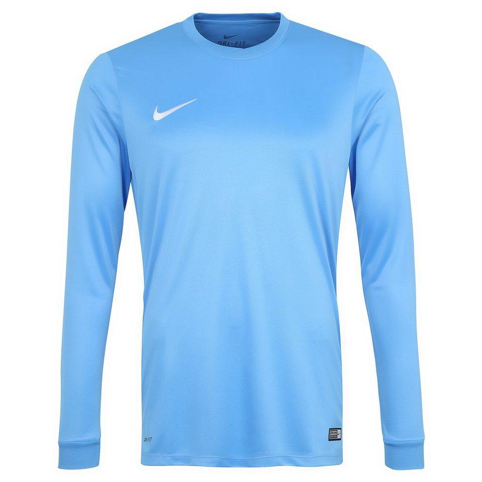 NIKE Park VI Fußballtrikot Herren in hellblau / weiß