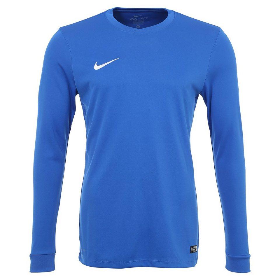 NIKE Park VI Fußballtrikot Herren in blau / weiß