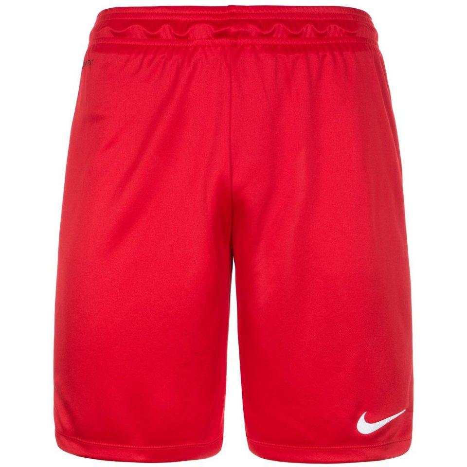 NIKE Park II Short Herren in rot / weiß