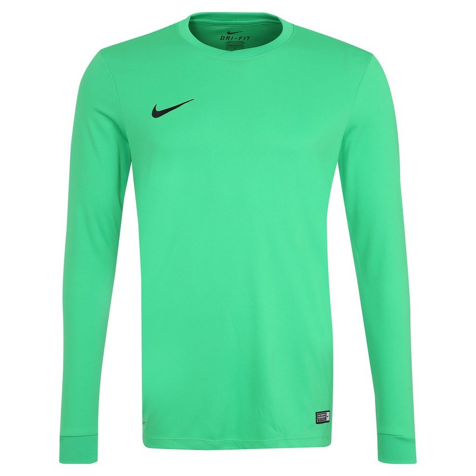 NIKE Park VI Fußballtrikot Herren in hellgrün / weiß