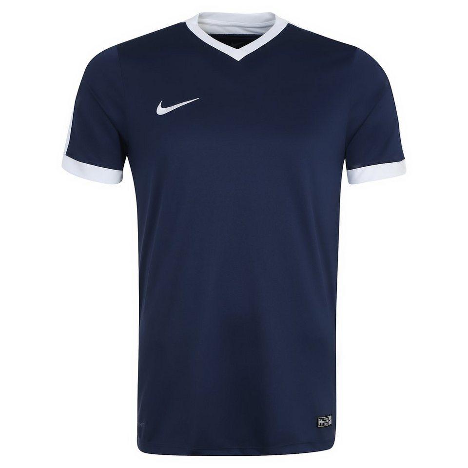NIKE Striker IV Fußballtrikot Herren in dunkelblau / weiß
