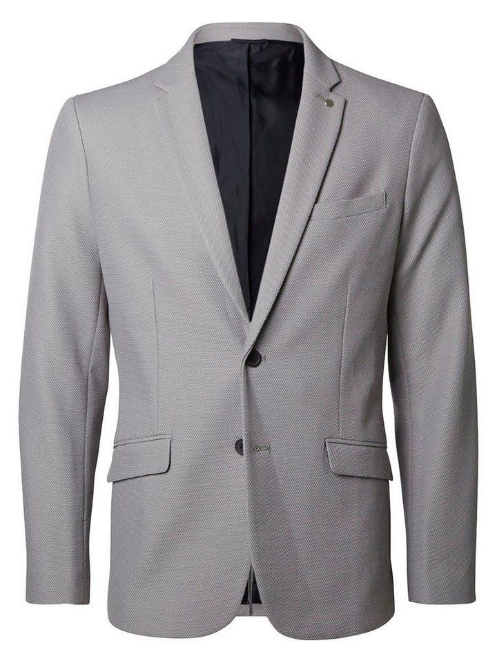 Selected Slim-Fit- Blazer in Grey