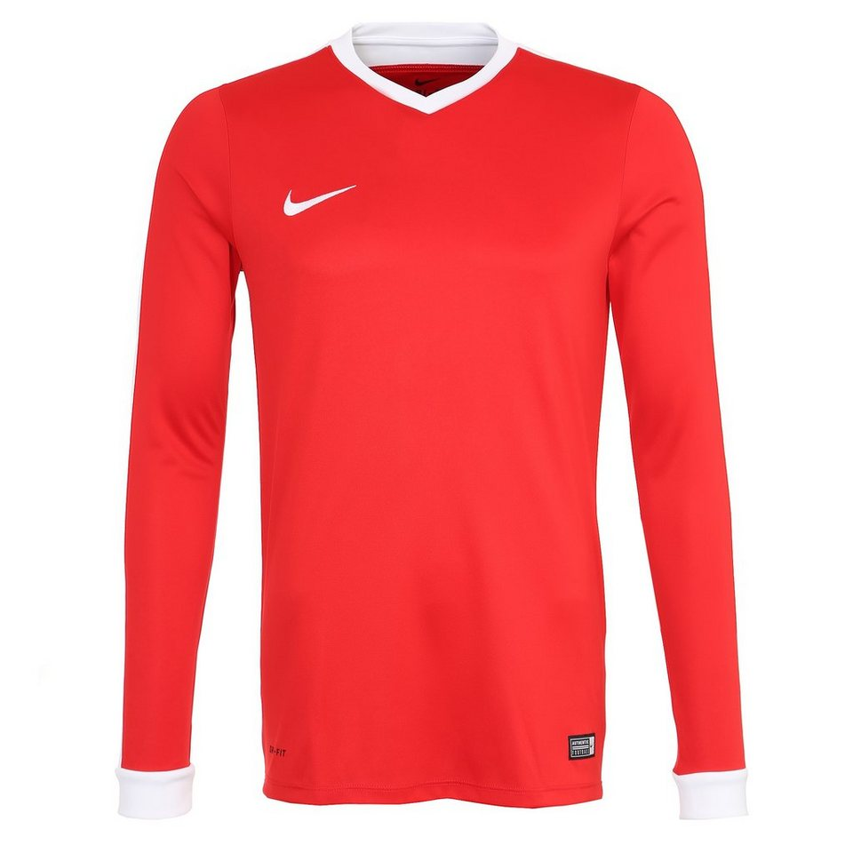 NIKE Striker IV Fußballtrikot Herren in rot / weiß