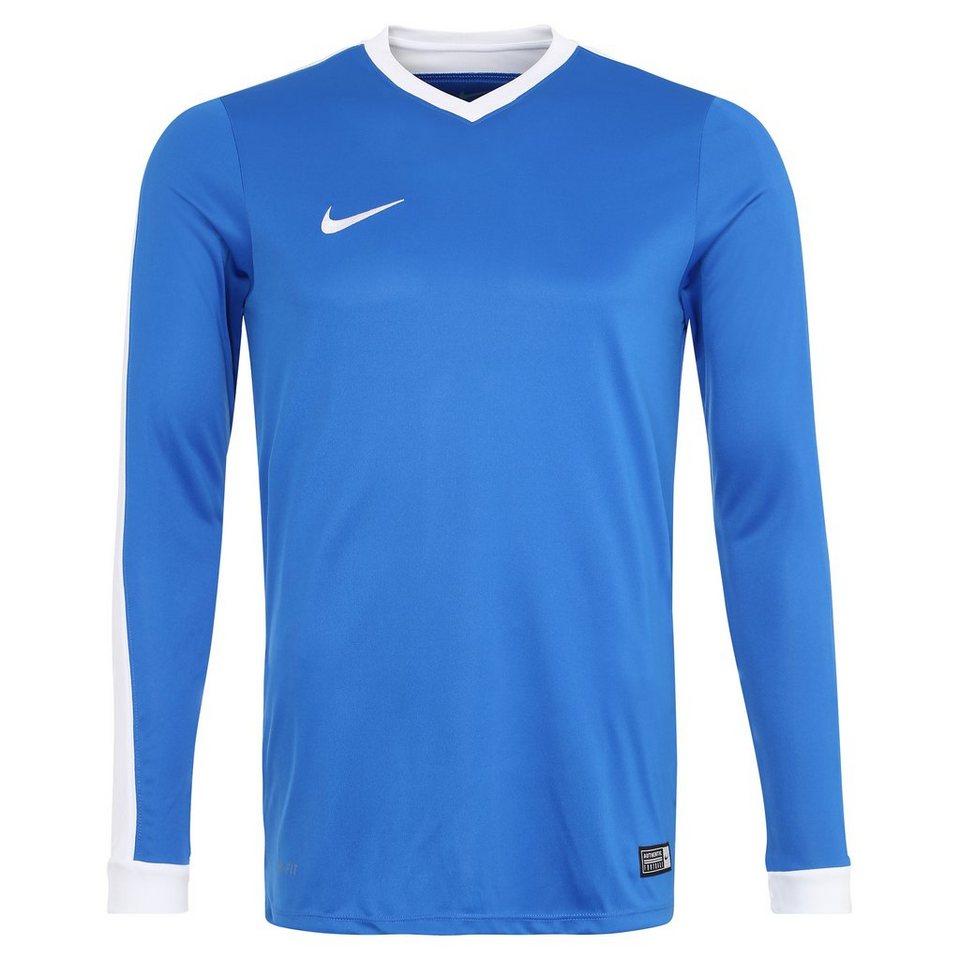 NIKE Striker IV Fußballtrikot Herren in blau / weiß