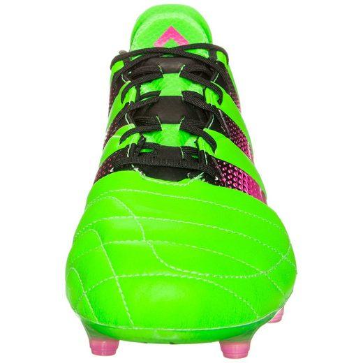 Adidas Performance Ace 16.1 Fg / Ag Chaussures De Football En Cuir Pour Hommes