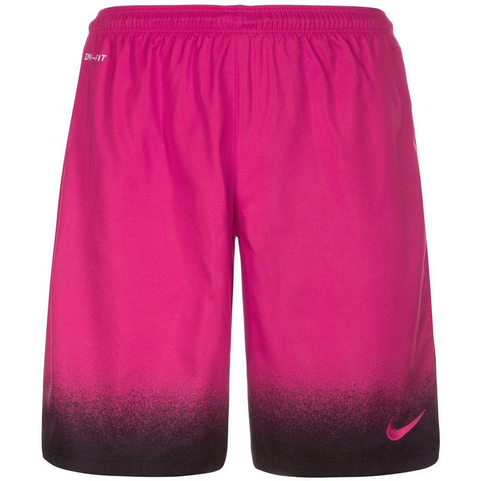 NIKE Laser Print Short Herren in pink / schwarz