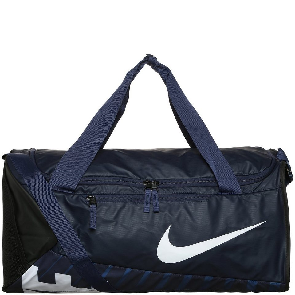 NIKE Alpha Adapt Cross Body Sporttasche Medium in dunkelblau / schwarz