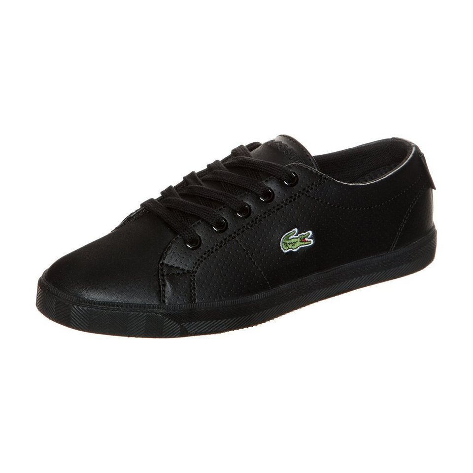 LACOSTE Marcel Lace Up Sneaker Kinder in schwarz