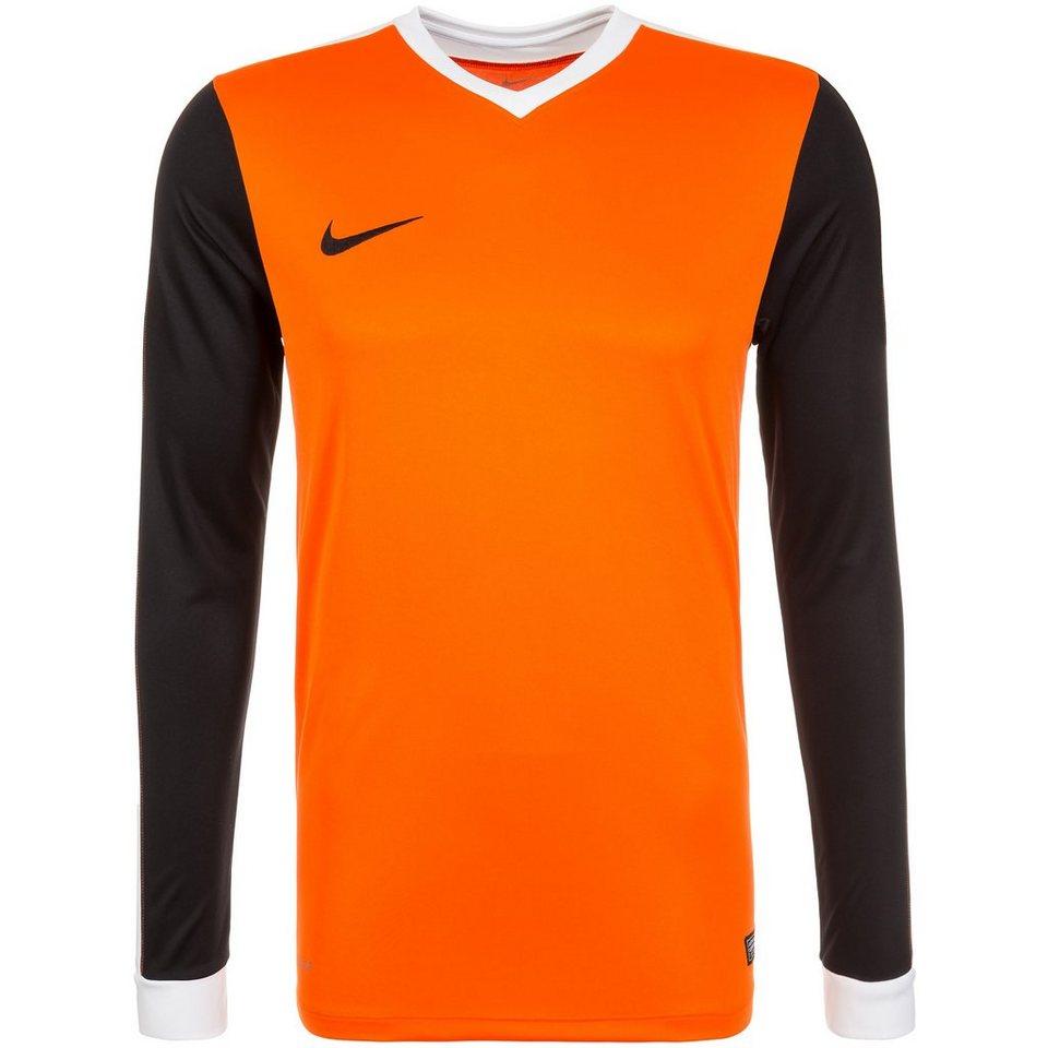 NIKE Striker IV Fußballtrikot Herren in orange / schwarz