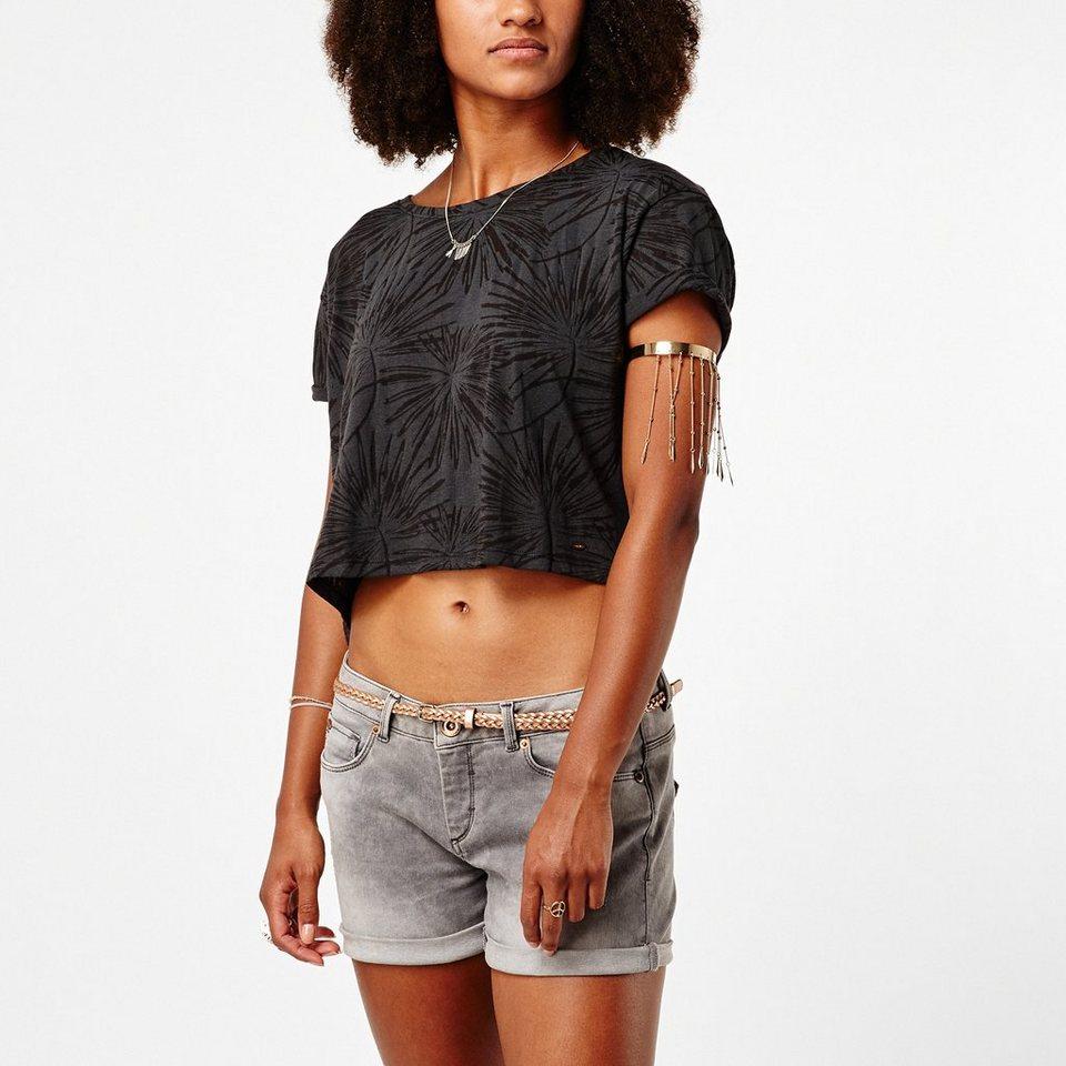 O'Neill T-Shirt kurzärmlig »Palm« in Schwarz