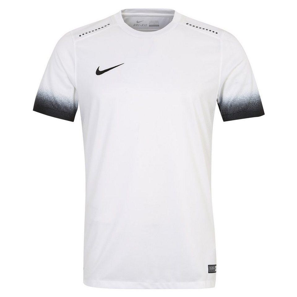 NIKE Laser Print III Fußballtrikot Herren in weiß / schwarz