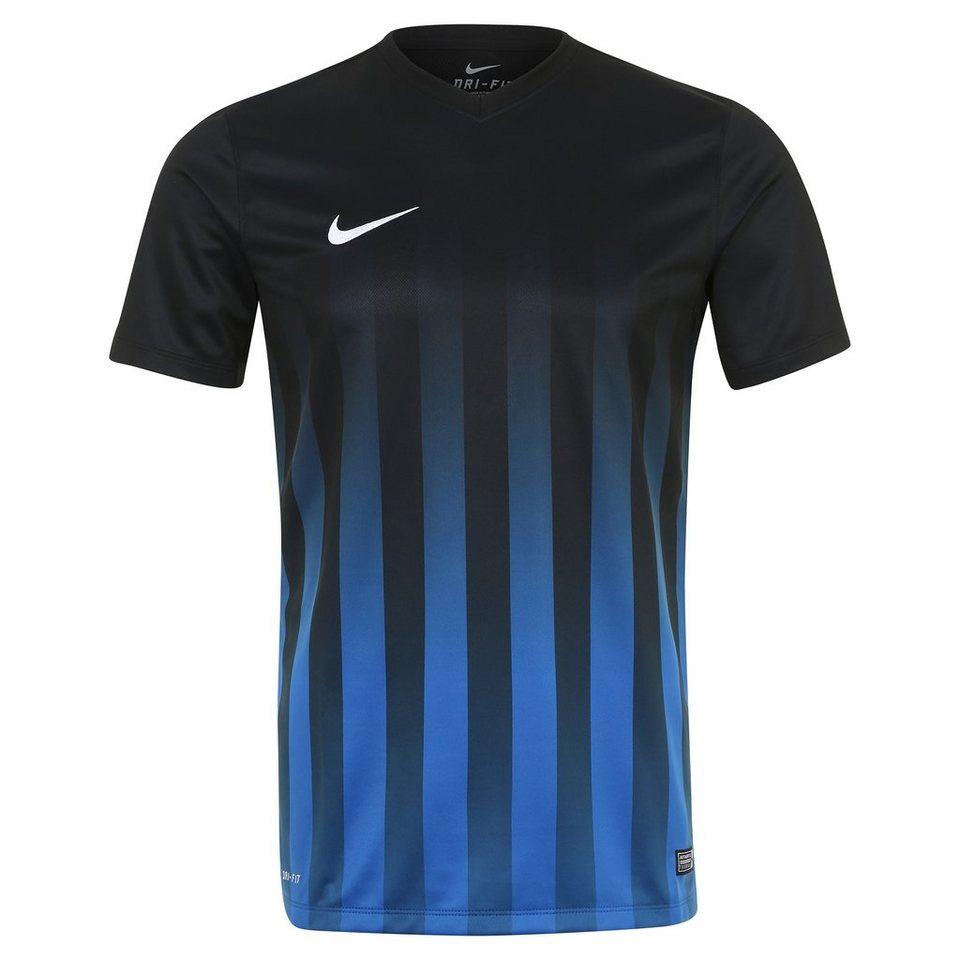 NIKE Striped Division II Fußballtrikot Herren in schwarz / blau / wei