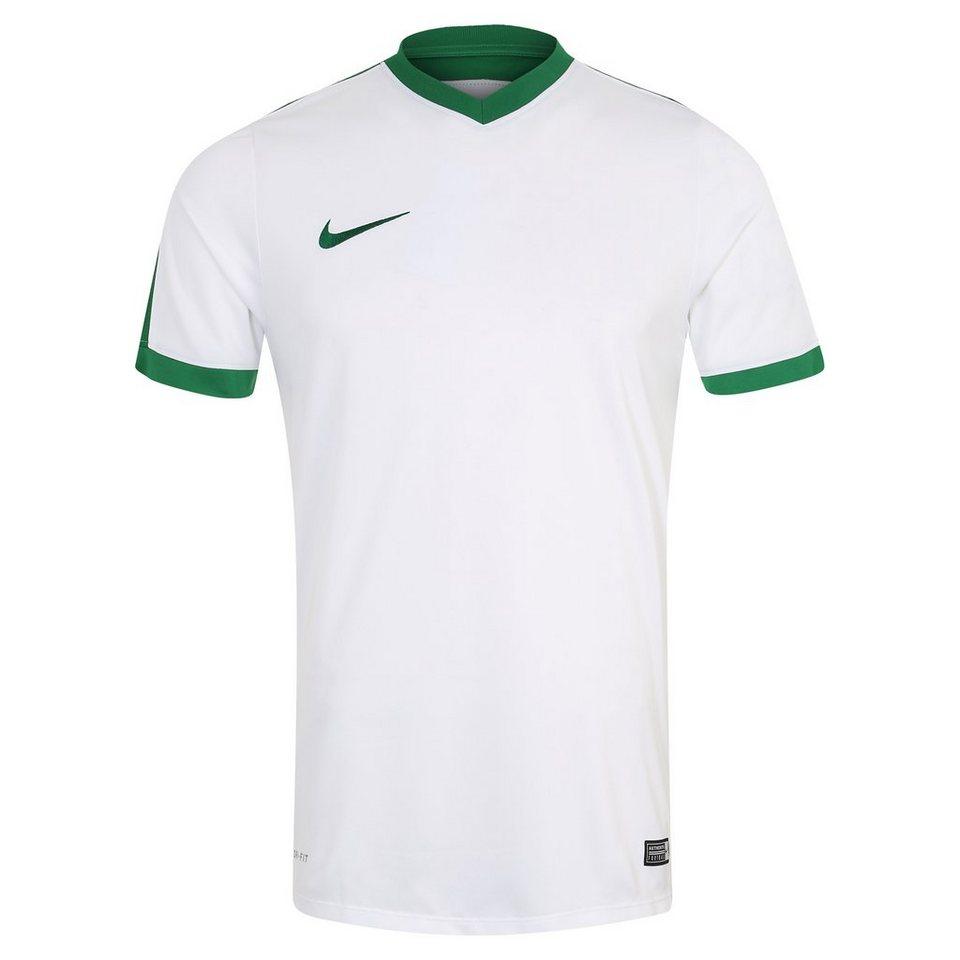NIKE Striker IV Fußballtrikot Herren in weiß / grün