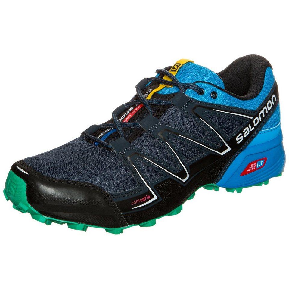 Salomon Speedcross Vario Trail Laufschuh Herren in dunkelblau / blau
