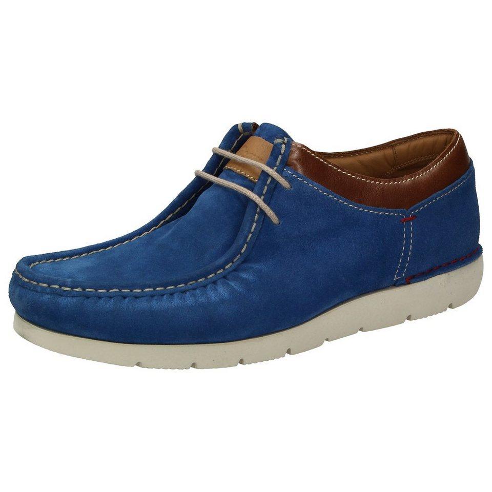 Sioux Mokassin »Tyrome« in blau