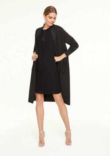 Comma Minikleid »Kleid mit Swarovski®-Applikation« Schmucksteine, Applikation