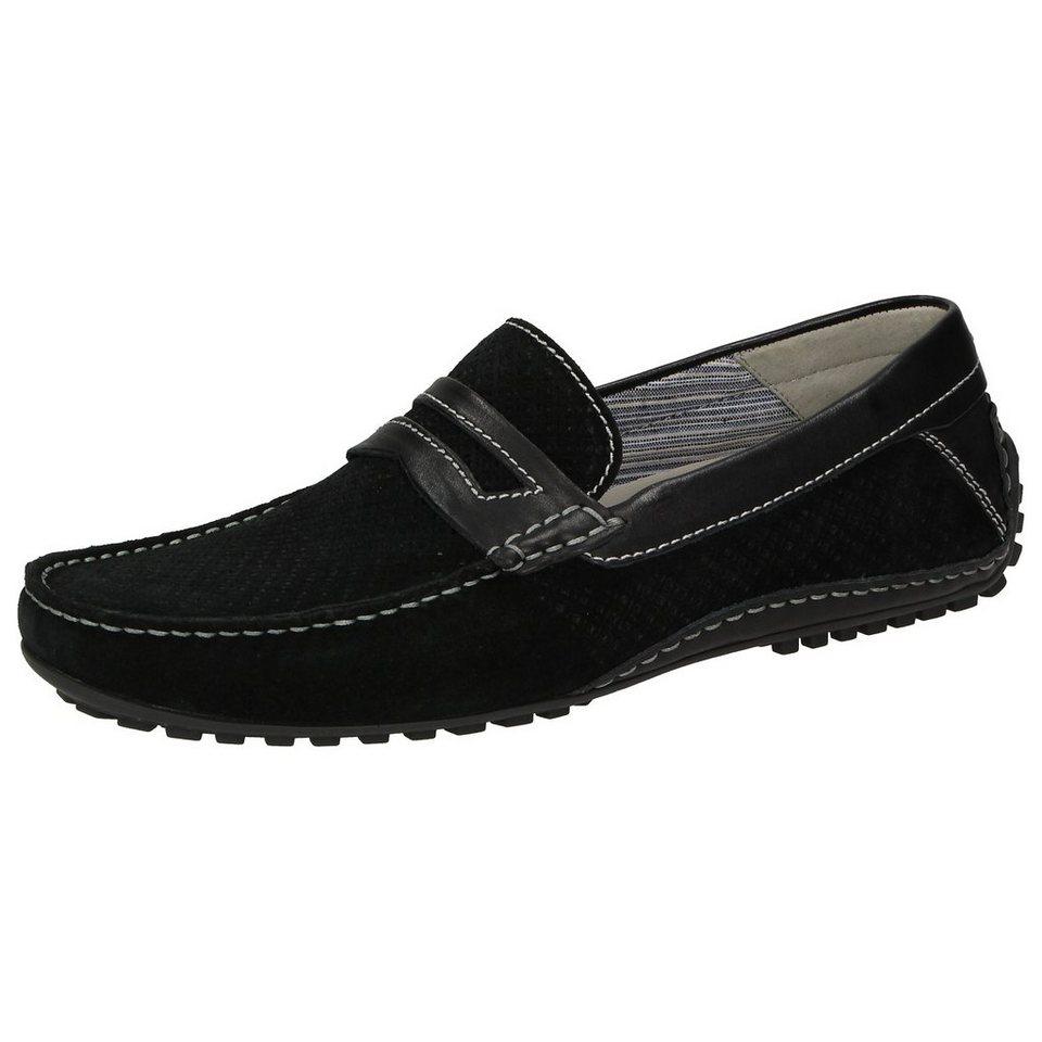 Sioux Slipper »Caifas« in schwarz
