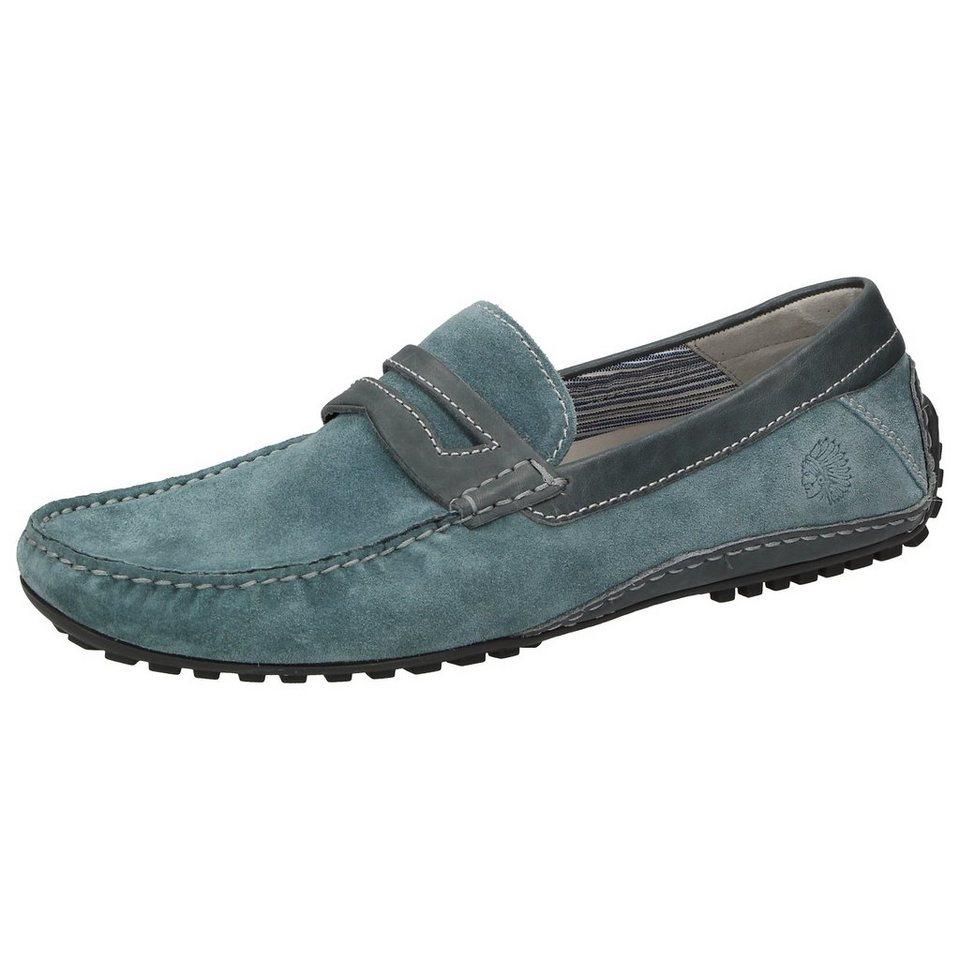 Sioux Slipper »Caceres« in blau