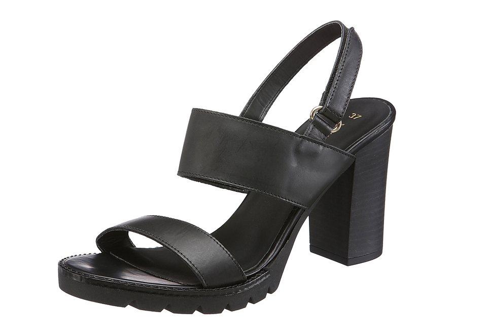 Vero Moda Sandalette in schwarz