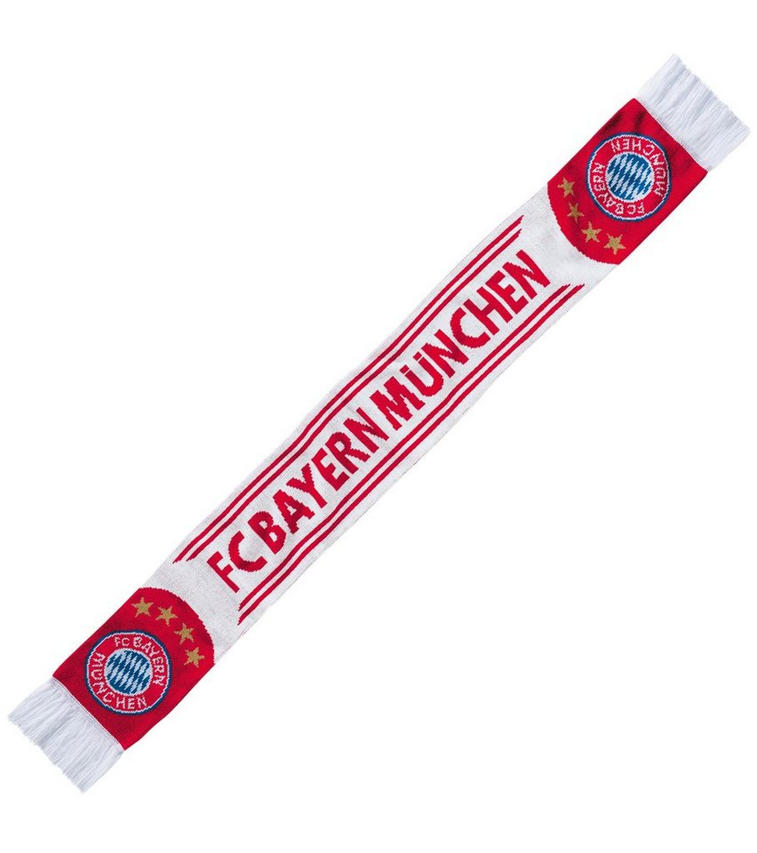 FC Bayern München Fan Schal, »FC Bayern München weiß«