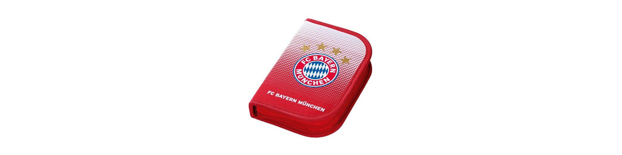 FC Bayern München Mäppchen gefüllt rot, »FC Bayern Federmäppchen«