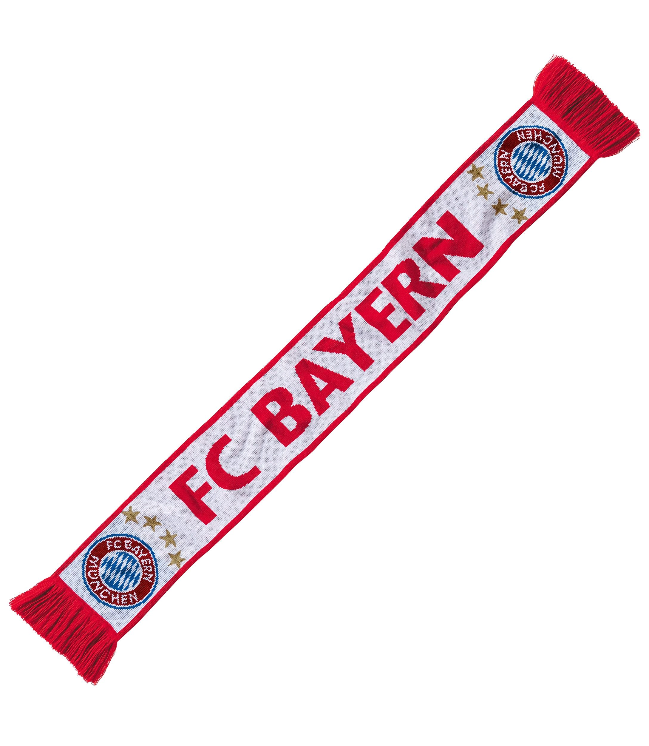 FC Bayern München Fan Schal, »Schriftzug FC Bayern Rekordmeister«