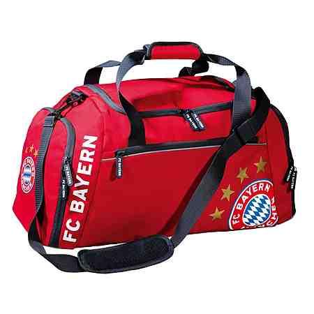 FC Bayern München Reisetasche rot