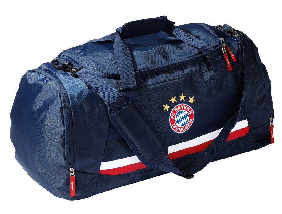 FC Bayern München Reisetasche, »Tasche Logo navy« in blau