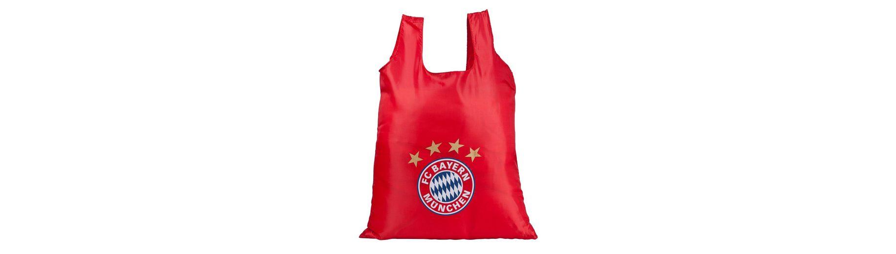 FC Bayern München Shopper faltbar mit Clip zum Aufhängen