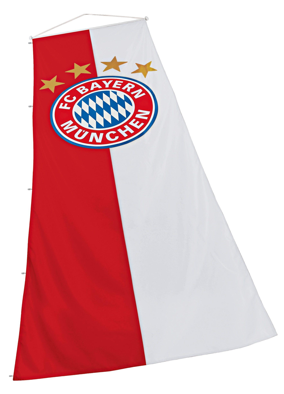 FC Bayern München Fahne, »FC Bayern Bannerfahne 120x300 cm«