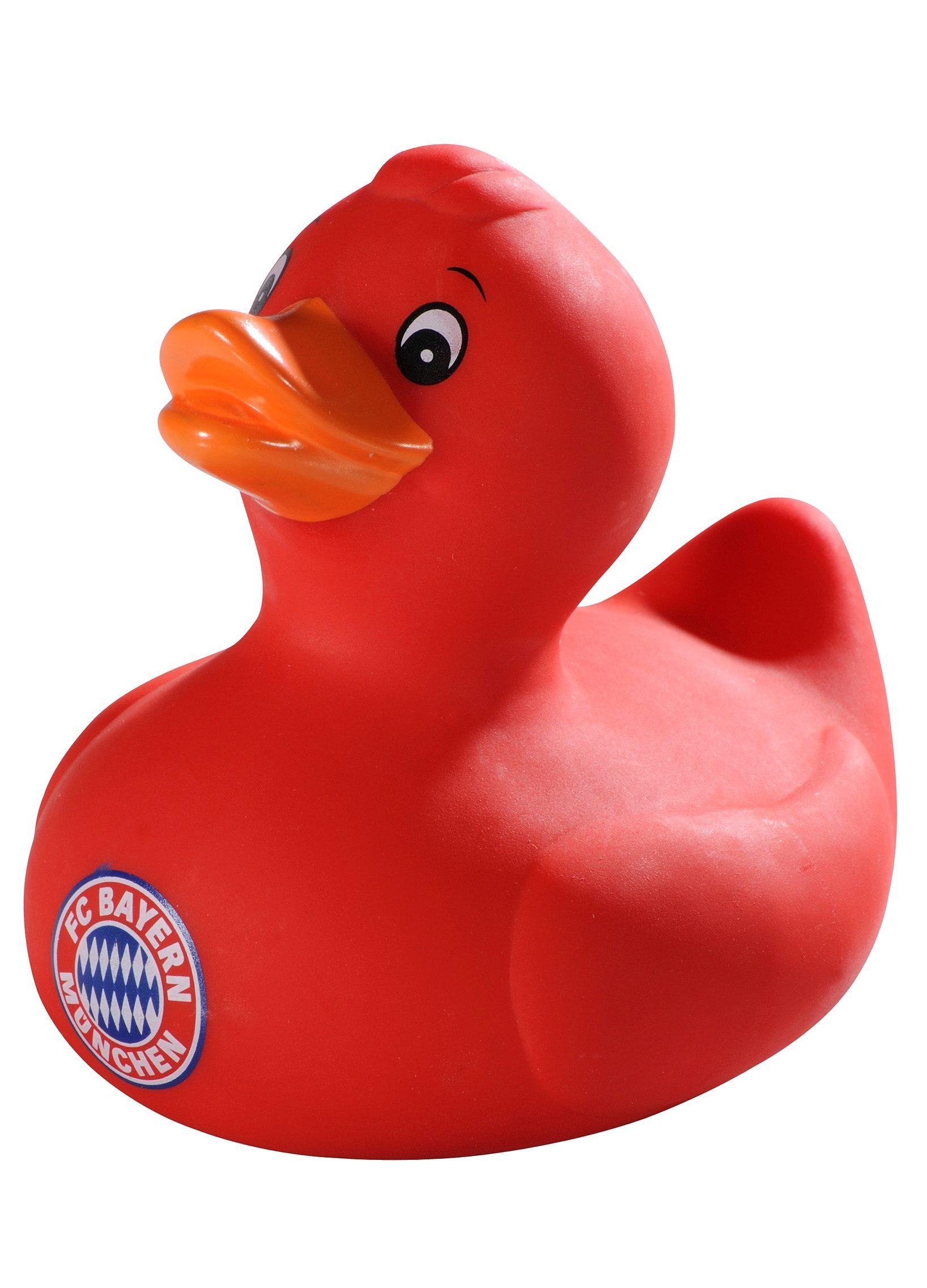 FC Bayern München Badeente rot, »Logo«