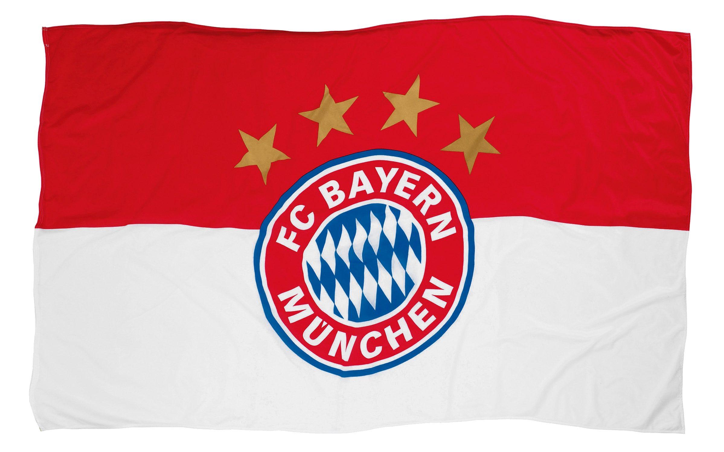 FC Bayern München Fahne FC Bayern Logo 150x100 cm