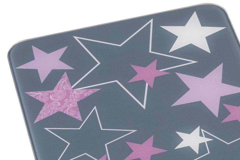 Herdabdeckplatten, 2er-Set in grau/rosé