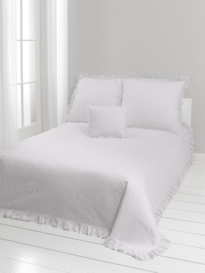 tagesdecke grau affordable ib laursen bettdecke patchwork grau wei gedruckt tagesdecke x cm gro. Black Bedroom Furniture Sets. Home Design Ideas