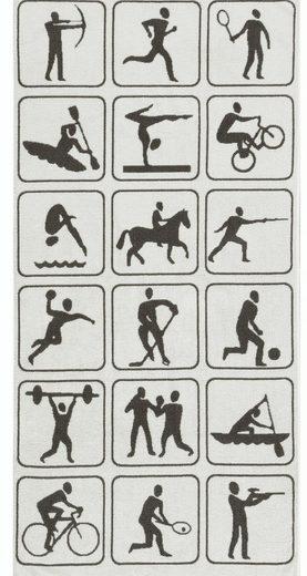 Strandtuch »Activity«, Egeria, mit Sport-Motiven